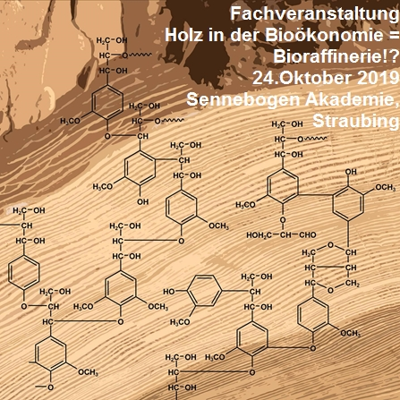 Holz in der Bioökonomie = Bioraffinerie!? - Fachveranstaltung am 24.10. in Straubing