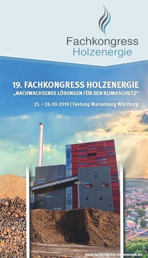 Fachkongress Holzenergie würzburg 2019