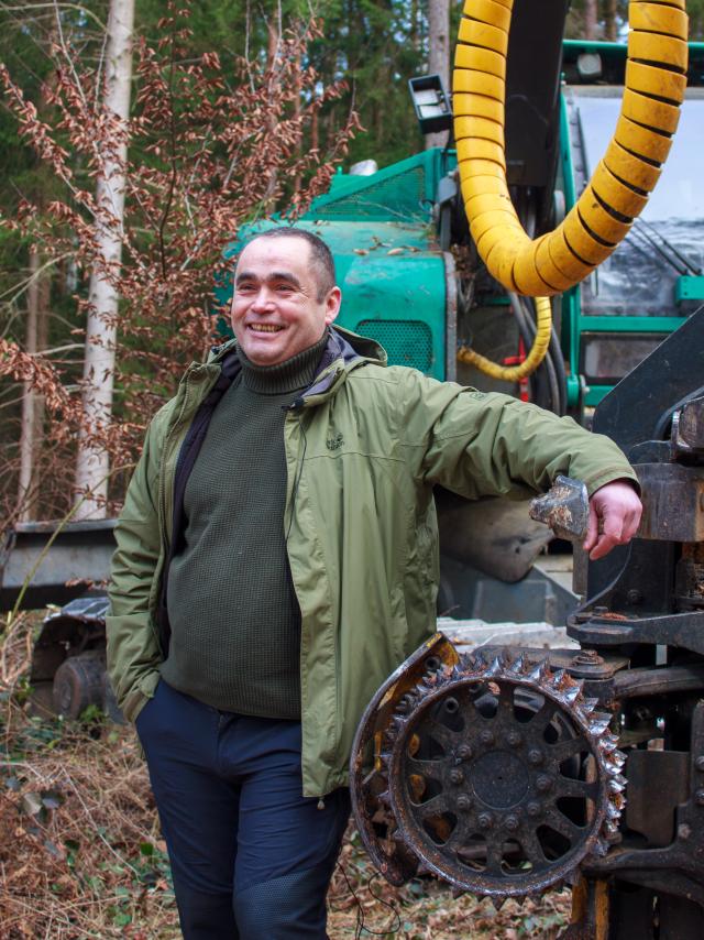 Norbert Harrer, Vorsitzender Vorsitzender des Berufsverbands der Forstunternehmer in Bayern e.V.