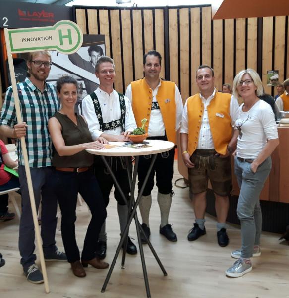 Innovation auf der Allgäuer Festwoche – Inno4wood-Holzbotschafter treffen sich