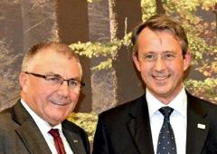 Xaver Haas und Prof. Dr. Hubert Röder