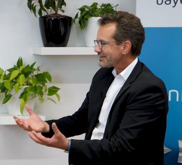 Rainer Seßner, Geschäftsführer der Bayern Innovativ GmbH